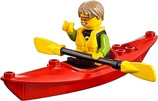 LEGO City Beachgoer MiniFigure: Kayaker (w/ Kayak & Oars) 60153