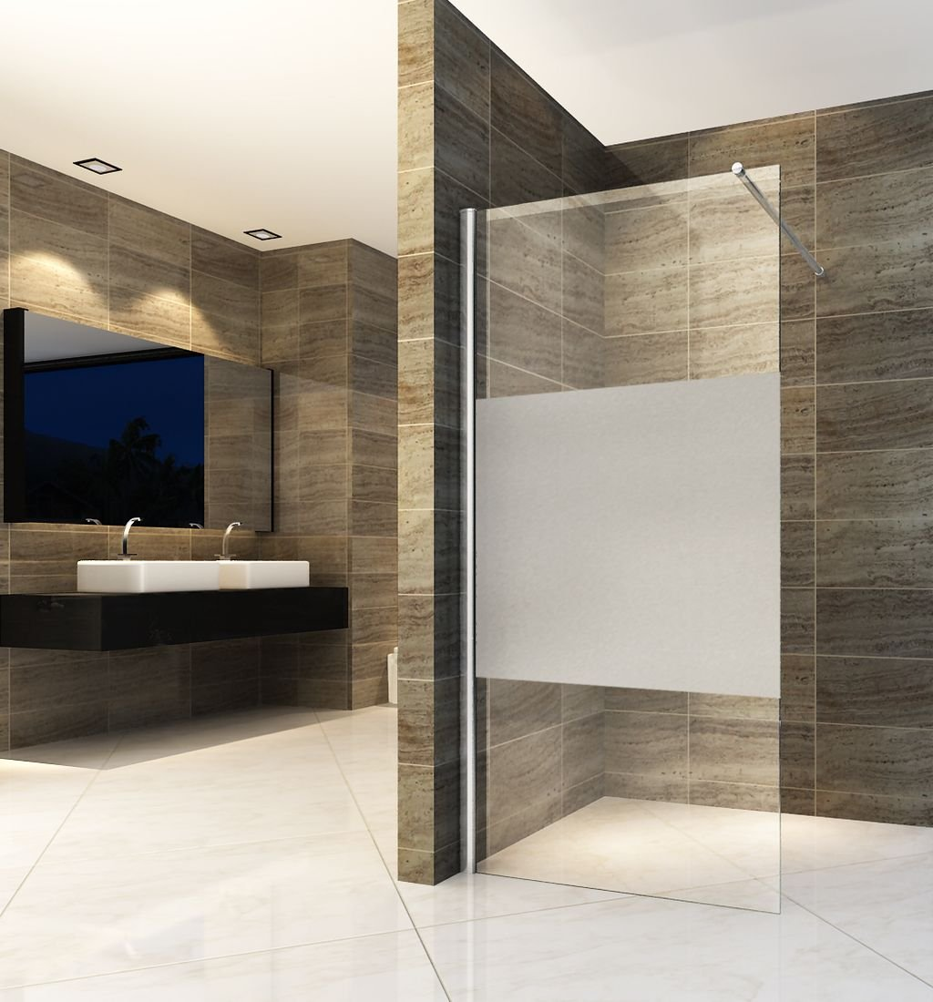 Entry-Pf - Mampara de ducha 8 mm: Amazon.es: Bricolaje y herramientas