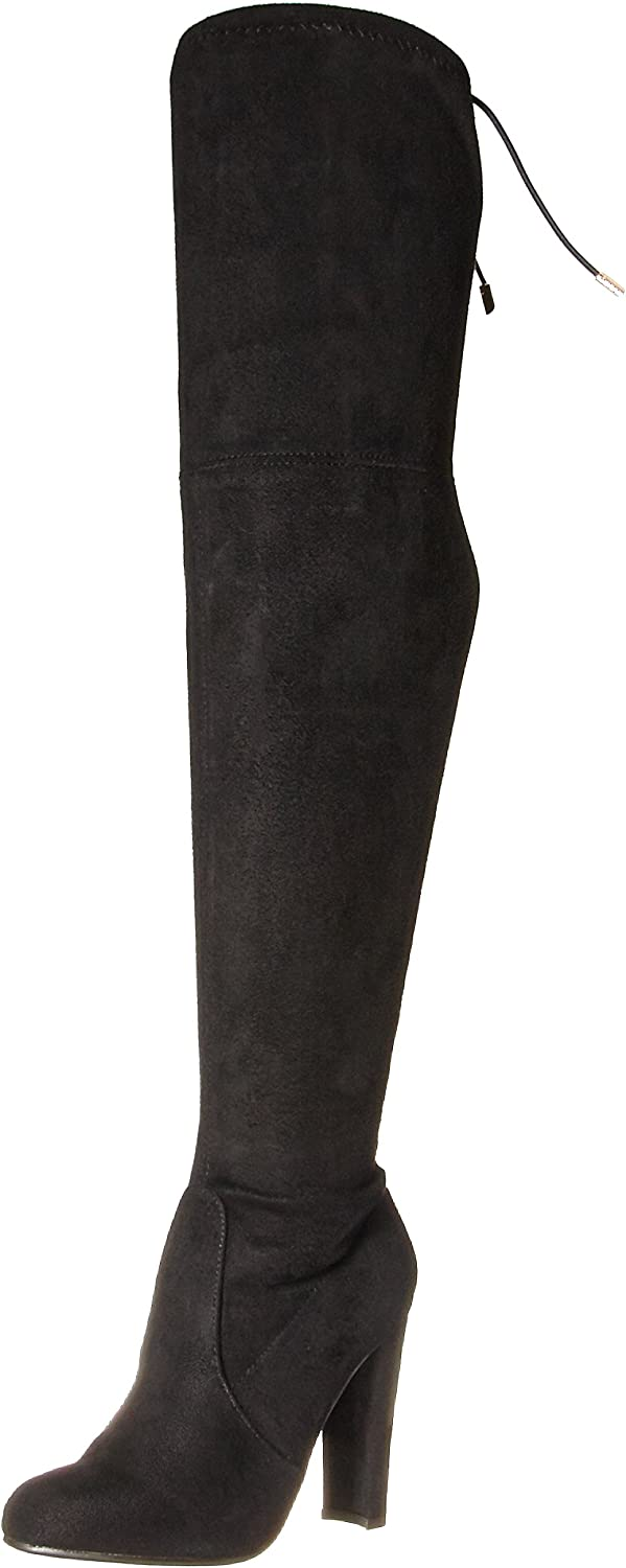 Yoki Betsy Women Thigh high Over The Knee Boot with a Side Zipper