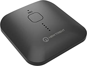 NewTrent Bluetooth Receiver V4.1 Wireless Audio Adapter with Hands-Free Calling and Stereo Jack for Home and Car Audio System