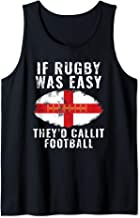 Funny England Rugby The Lions Tank Top