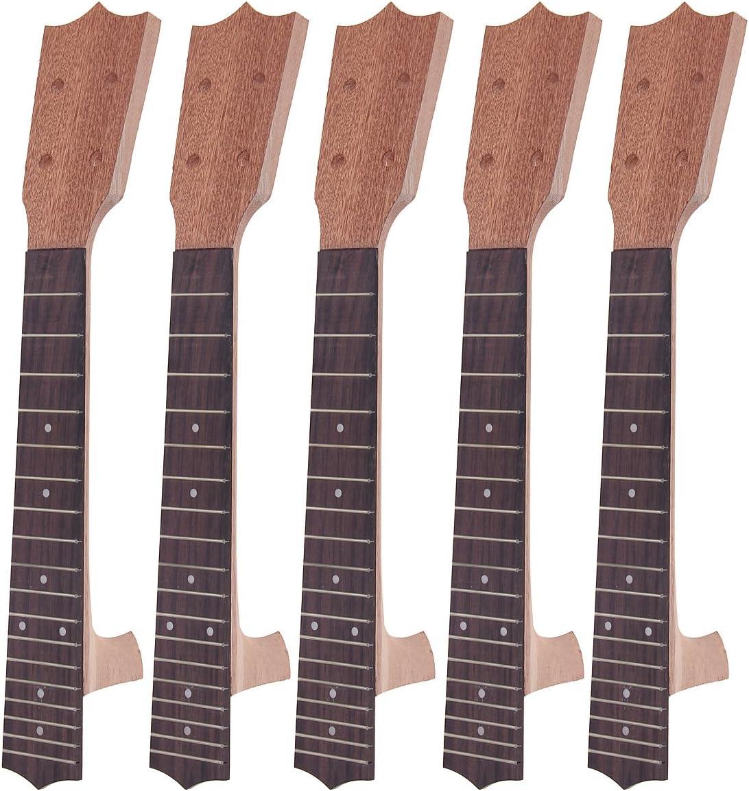 Ukulele DIY SALENEW 5 popular very popular Unfinished 23 inch Neck Fingerboard Concert