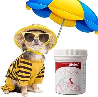 ペットの典型的なパウダー、ペットの出血を止める典型的なパウダーネイルケアの典型的なパウダー、ペットの出血を止めるスキンプロテクター犬、猫、鳥のためのペットの救急用品(1個)