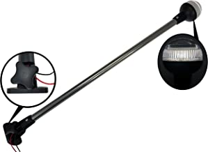 Pactrade Marine RV Adjustable Folding All Round Navigation Pole Light 25