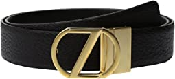 Z Zegna - Adjustable/Reversible BBOAG1 H35mm Belt
