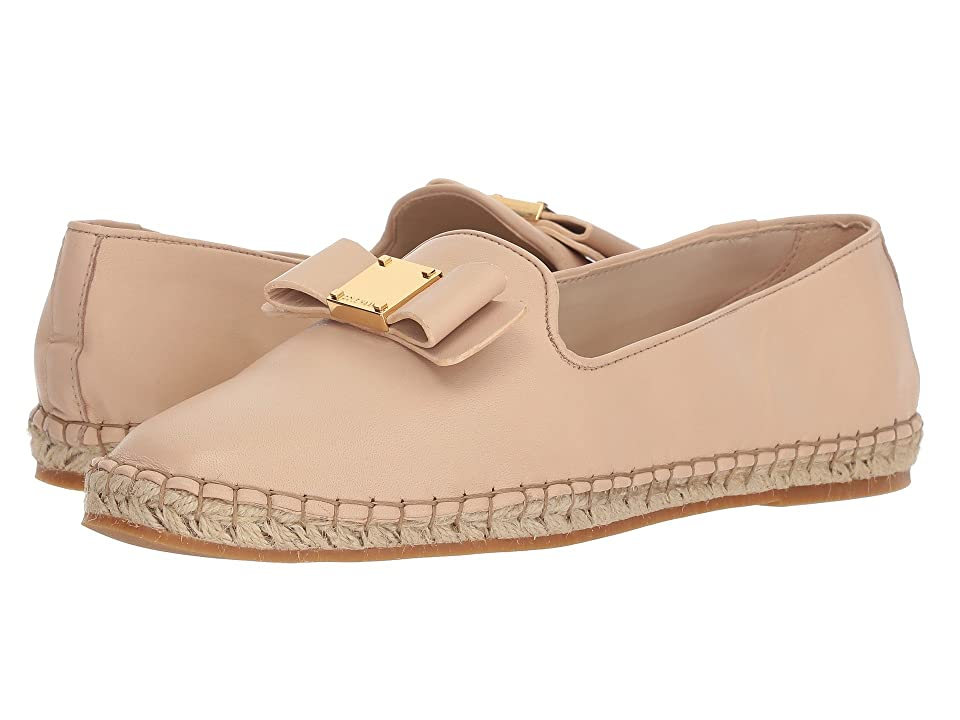 Cole Haan Tali Bow Espadrille (Nude Leather) Women's Shoes, Pink