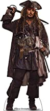 Advanced Graphics Jack Sparrow Life Size Cardboard Cutout Standup - Pirates of The Caribbean: Dead Men Tell No Tales (2017 Film)