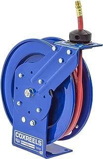 Coxreels P-LP-325 Low Pressure Retractable Air/Water Hose Reel: 3/8