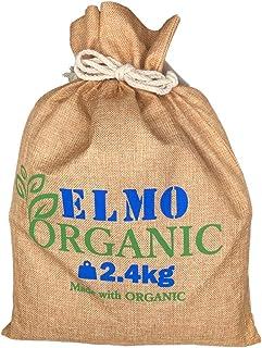 ELMO エルモ オーガニック organic アダルト/チキン 有機栽培で作られたオーガニックドッグフード 嗜好性の高い骨抜きオーガニックチキンとオーガニック穀物 (2.4kg)