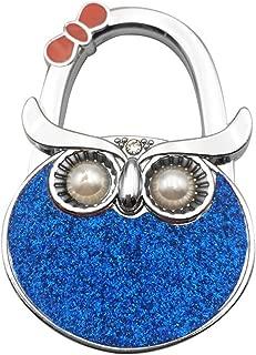 Grtdrm Cute Owl Premium Foldable Handbag Bag Purse Hanger Table Hook Holder