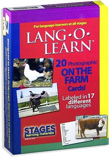 soporte minorista mayorista Lang-O-Learn Cards - On the Farm by Stages Publishing Publishing Publishing  servicio considerado