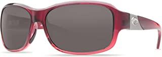 Costa del Mar Women's Inlet IT 48 OGP Polarized Round Sunglasses