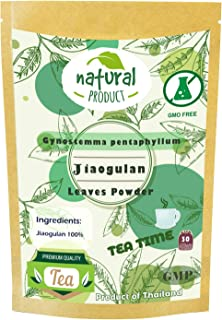 Gynostemma Pentaphyllum (Jiaogulan) 30 tea bags Natural Grown in Thailand