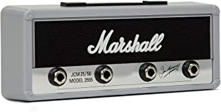 Pluginz Jack Rack- Marshall Silver Jubilee. Includes 4 Guitar Plug Keychains and Easy Installation Wall mounting kit. (Sil...