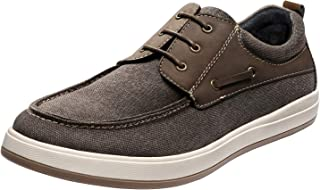 Sponsored Ad - Bruno Marc Men's Canvas Boat Shoe Lace Up Fashion Casual Sneakers