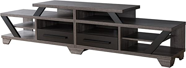 HOMES Inside Out IDI 161754 Cartin TV Stand Distressed Grey