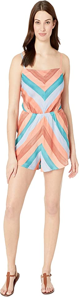 Block Party Romper Cover-Up