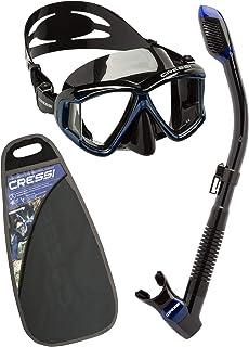 comprar comparacion Cressi Pano3&Dry Kits Máscara Tubo, Unisex Adulto