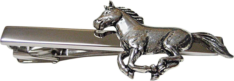 Kiola Designs Running Horse Square Tie Clip