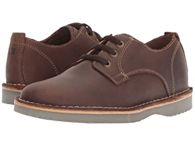 Florsheim Kids Navigator Plain Toe Oxford Jr. (Toddler/Little Kid/Big Kid) (Brown Crazy Horse) Boy