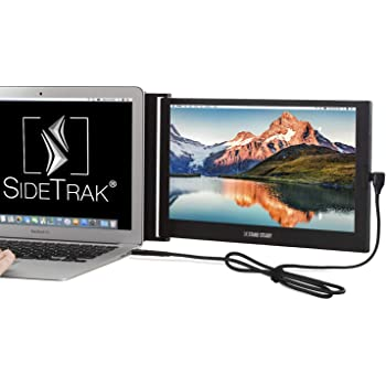 "SideTrak Slide Portable Monitor for Laptop 12.5"" FHD 1080P IPS Attachable Second Laptop Screen 