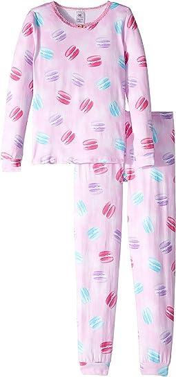Macaron/Pink Lace