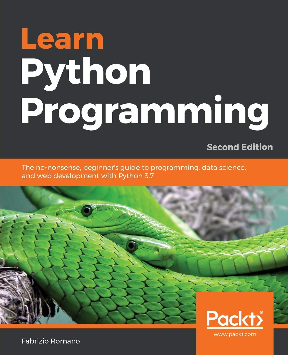Image OfLearn Python Programming: The No-nonsense, Beginner's Guide To Programming, Data Science, And Web Development With Python ...