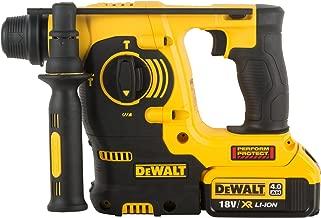 Dᴇ WALT DCH253M2-QW Tassellatore SDS-Plus a Percussione, 4.0 Ah, 3 Modalità di Lavoro con Doppia Batteria in Valigetta, 18 V
