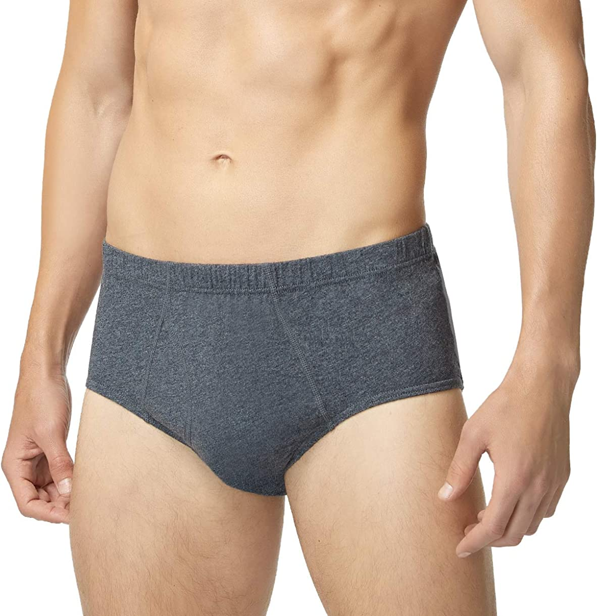 Banunos Men's Briefs Underwear High 55% OFF material 100% Low Cotton Rise Comfy