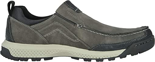 Charcoal Distressed Synthetic