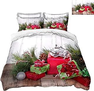 wechat store Girl 3D Bedding Set Twin Full Queen California King Sheet Linen Set Single Christmas Double Bed Set Duvet/Quilt Cover Pillowcase,3D Bedding Set,King 220x240cm