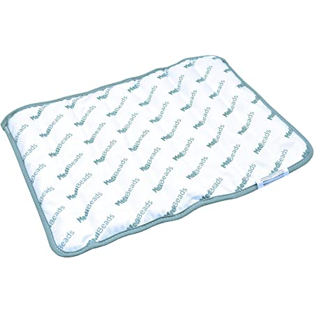 medibeads microwave activated moist heat king pad 12 x 16 washable reusable delivers therapeutic relief for up to 30 minutes