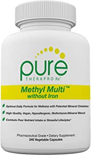 Sponsored Ad - Methyl Multi Without Iron - 240 Vegetable Capsules | This Vegan Formula Features Activated Vitamin Cofactor...