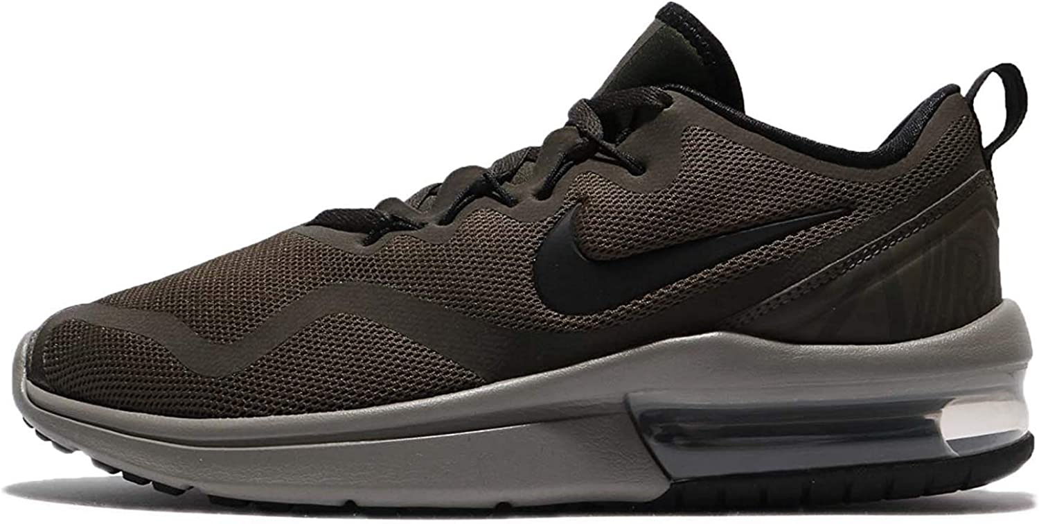NIKE Men's Air Max Fury, Cargo Khaki Black-Sequoia, 10 M US