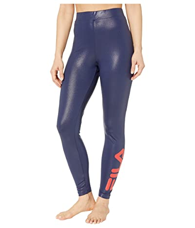 Fila Skyler Lame High-Waisted Leggings Women