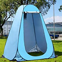 Camp Toilette WC Regenschutz f/ür Camping und Strand Sichtschutzzelt Einfach einzurichten Tragbares Au/ßenduschzelt Pop Up Pod Umkleidekabine