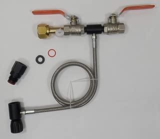 Palmer Pneumatics Refill Kit for Soda Maker Carbonator Bottles and Paintball CO2 Bottle