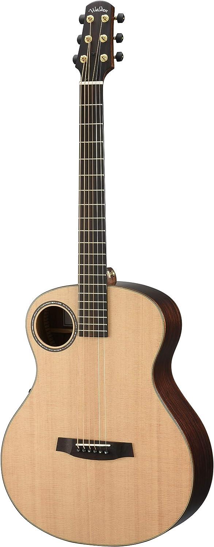 02 BARITONE. WALDEN Guitarra electroacustica de 6 cuerdas WAB1EH BARITONE