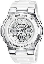 Casio Reloj analógico-Digital para Mujer de Cuarzo con Correa en Resina BGA-110-7BER