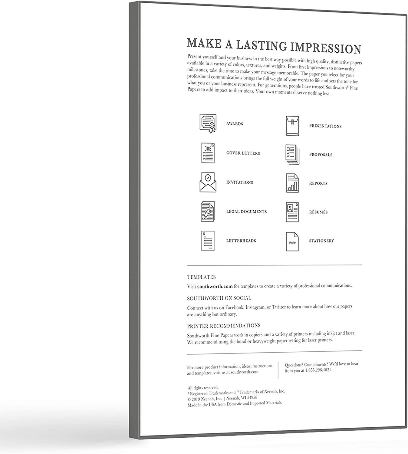 Southworth private stock resume paper esl ghostwriter sites for masters
