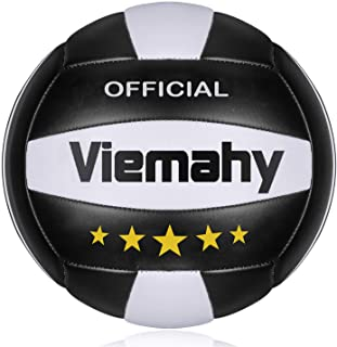Premium Volleyball - Waterproof Indoor/Outdoor Official Volleyball for Boys/Girls, Gift for Birthday, Xmas Day