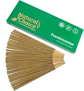Sponsored Ad - Natural Choice All Natural Traditional Wood Incense Sticks - Frankincense (Loban)