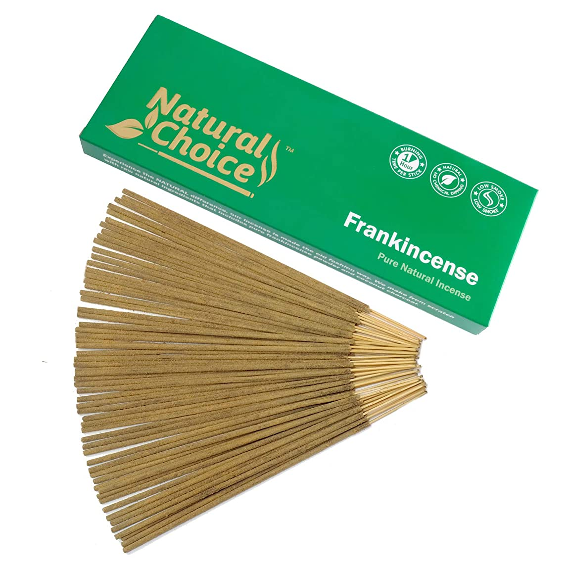 Frankincense ( Loban ) Incense Sticks 100?gm?–?Made from Scratch?–?No Dipping