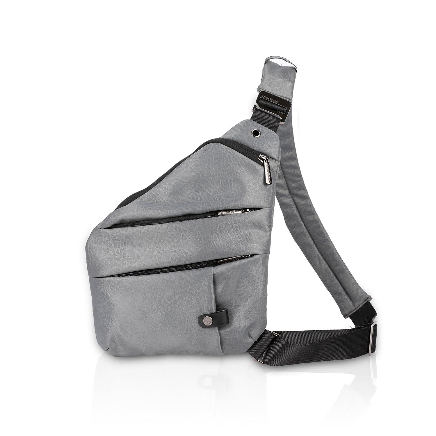 共同選択伝統セールFANDARE ボディバッグ ワンショルダーバッグ 斜めがけバッグ 軽量 盗難防止 通勤 旅行 男女兼用 メンズ ポリエステル
