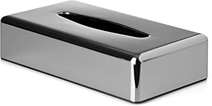 Wenko Caja para Panuelos 12x25x8 cm Plata Acero Inoxidable