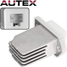 AUTEX AC Blower Motor Resistor Compatible with Nissan NV1500 2500 3500 12-14,Nissan Rogue Sentra Pathfinder 08-17 Replacement for Infiniti QX60 QX4 Q45 G20 I30 97-17 Blower Resistor RU700 RU788