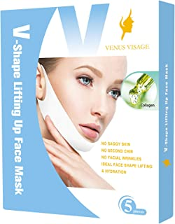 V Line Lifting Mask Chin Up Patch Double Chin Reducer Chin Mask V Up Contour Tightening..