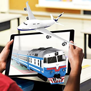 WizarKids Flashcards 4D+ Augmented Reality (Transportation Flashcards)