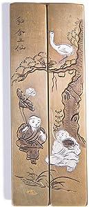和合二仙 Chinese Handmade Paperweight by Project V.O.C. | He-He Er Xian PPW02