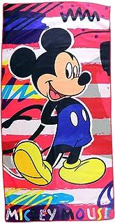 Disney Mickey Microfibre Kids Beach Bath Towel 55 X110 cm
